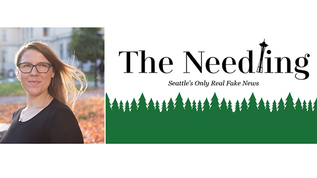 Art Zone: The Needling: Seattle's Only Real Fake News!
