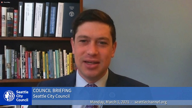 Council Briefing 3/1/21