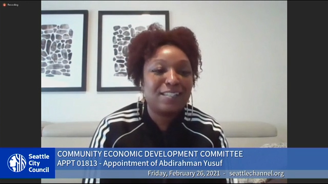 Community Economic Development Committee 2/26/21
