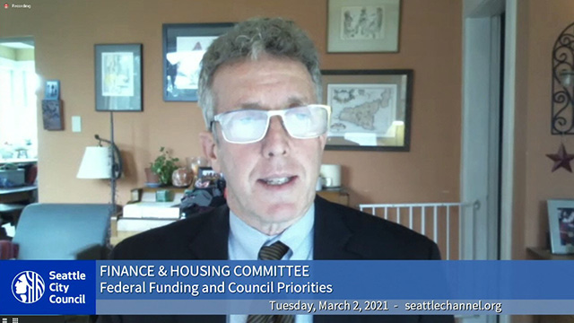 Finance & Housing Committee 3/2/21