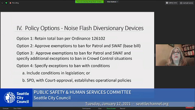 Public Safety & Human Services Committee 1/12/21