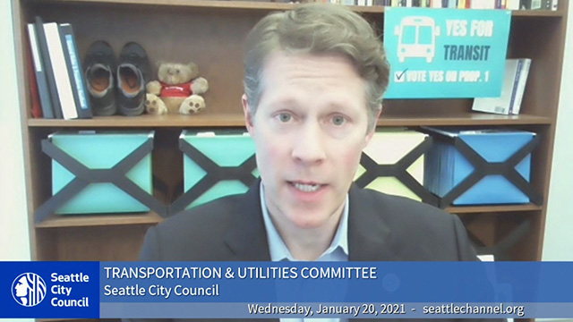 Transportation & Utilities Committee 1/20/21