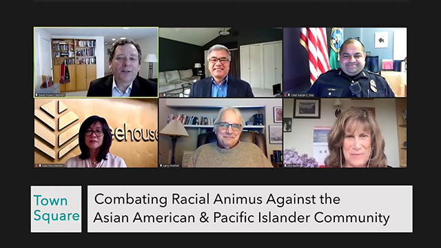 Town Square: Combating Racial Animus Against the AAPI Community - Solutions for Change