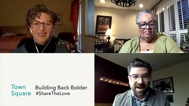 Town Square: Building Back Bolder: Creating an Equitable Arts Recovery